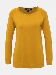 ZOOT hořčicový dámský basic svetr