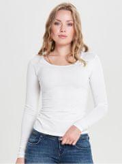 Jacqueline de Yong bílé basic tričko Ava
