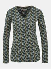 Brakeburn tmavě zelené vzorované tričko