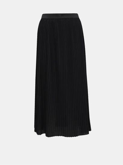 Jacqueline de Yong černá plisovaná midi sukně Paris L