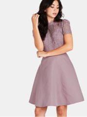 Little Mistress starorůžové šaty s krajkou