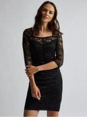 Dorothy Perkins černé krajkové šaty