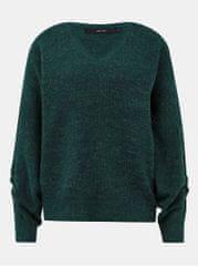 Vero Moda zelený basic svetr Gata