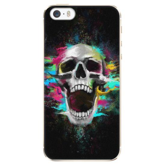 iSaprio Plastový kryt - Skull in Colors pro Apple iPhone 5/5S/SE