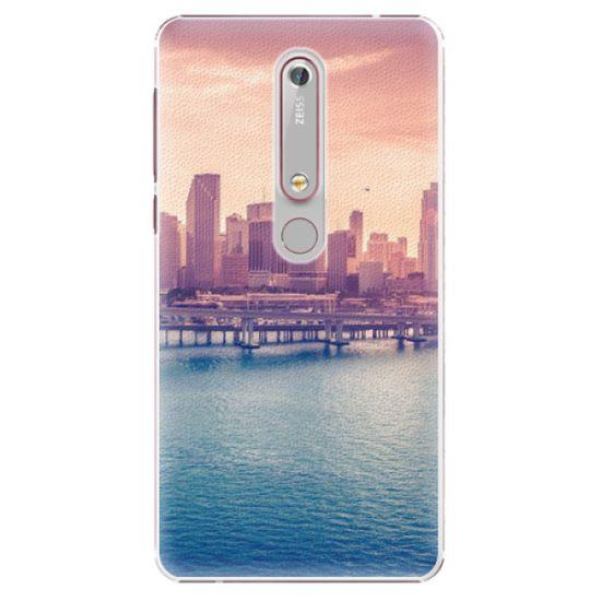 iSaprio Plastový kryt - Morning in a City pro Nokia 6.1