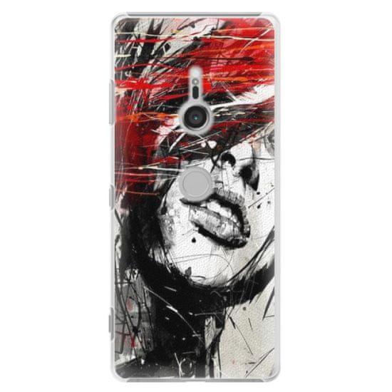 iSaprio Plastový kryt - Sketch Face pro Sony Xperia XZ3