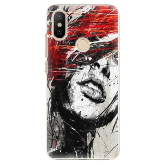 iSaprio Plastový kryt - Sketch Face pro Xiaomi Mi A2