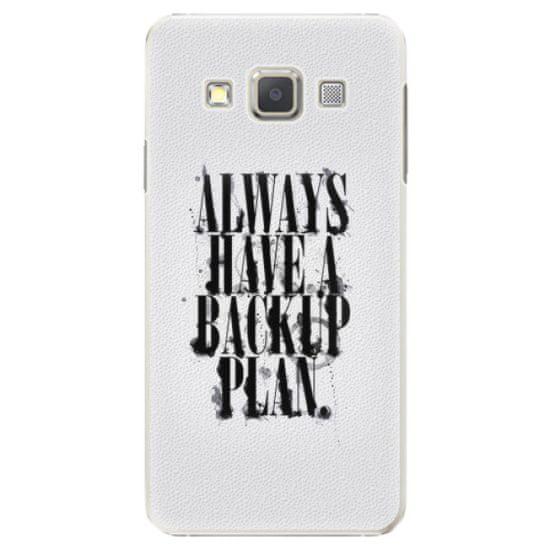 iSaprio Plastový kryt - Backup Plan pro Samsung Galaxy A5