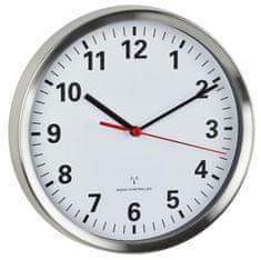 TFA Rádiem řízené nástěnné hodiny 60.3529.02 s tichým chodem