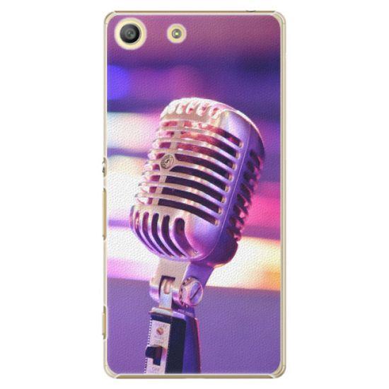 iSaprio Plastový kryt - Vintage Microphone pro Sony Xperia M5