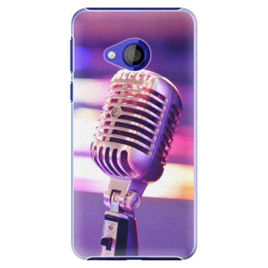 iSaprio Plastový kryt - Vintage Microphone pre HTC U Play