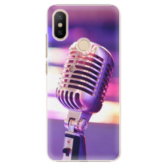iSaprio Plastový kryt - Vintage Microphone pre Xiaomi Mi A2