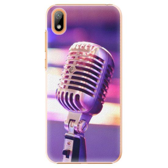 iSaprio Plastový kryt - Vintage Microphone pre Huawei Y5 2019