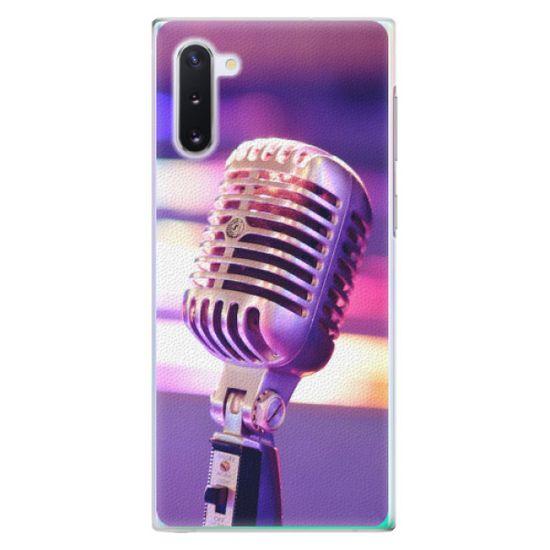 iSaprio Plastový kryt - Vintage Microphone pro Samsung Galaxy Note 10