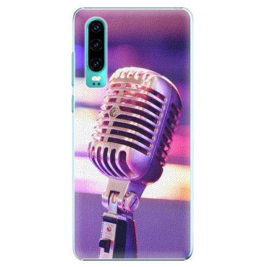 iSaprio Plastový kryt - Vintage Microphone pre Huawei P30