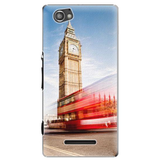 iSaprio Plastový kryt - London 01 pre Sony Xperia M