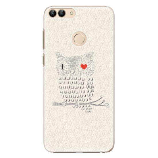iSaprio Plastový kryt - I Love You 01 pro Huawei P Smart