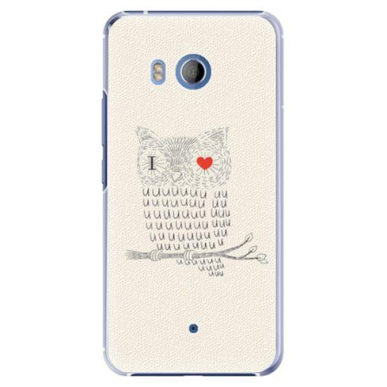 iSaprio Plastový kryt - I Love You 01 pro HTC U11
