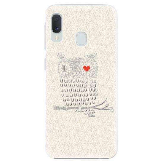iSaprio Plastový kryt - I Love You 01 pre Samsung Galaxy A20e