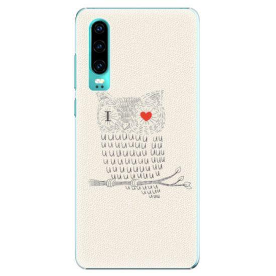 iSaprio Plastový kryt - I Love You 01 pre Huawei P30