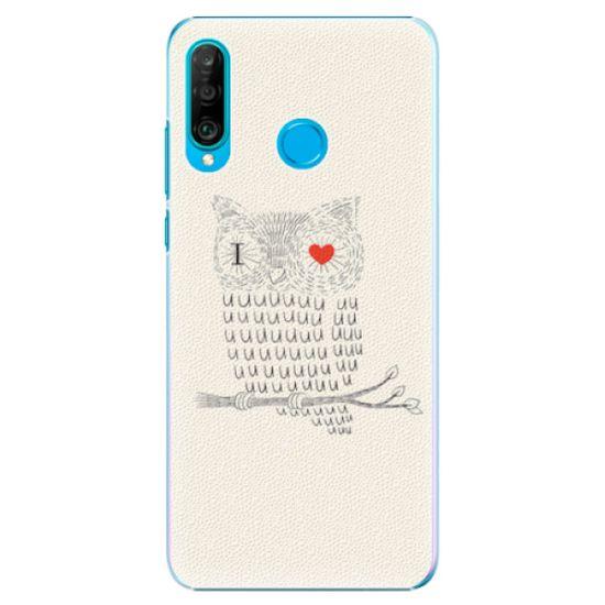 iSaprio Plastový kryt - I Love You 01 pre Huawei P30 Lite