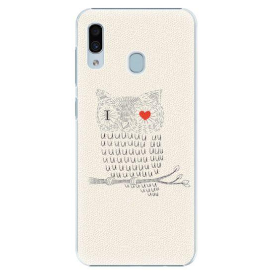 iSaprio Plastový kryt - I Love You 01 pre Samsung Galaxy A30