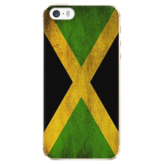 iSaprio Plastový kryt - Flag of Jamaica pre Apple iPhone 5/5S/SE