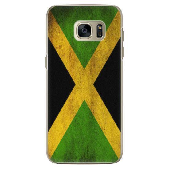 iSaprio Plastový kryt - Flag of Jamaica pre Samsung Galaxy S7