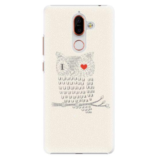 iSaprio Plastový kryt - I Love You 01 pre Nokia 7 Plus