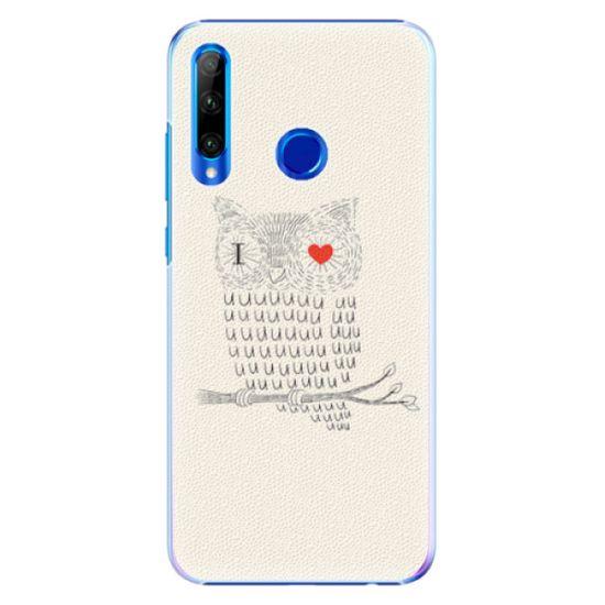 iSaprio Plastový kryt - I Love You 01 pre Huawei Honor 20 Lite