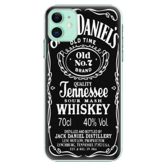 iSaprio Plastový kryt - Jack Daniels pro Apple iPhone 11
