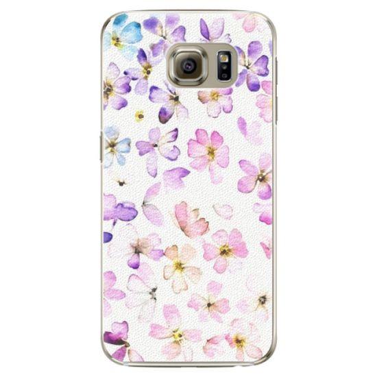 iSaprio Plastový kryt - Wildflowers pre Samsung Galaxy S6 Edge Plus