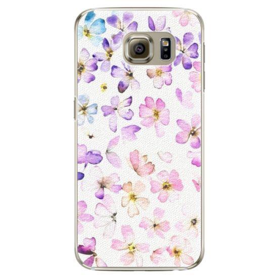 iSaprio Plastový kryt - Wildflowers pre Samsung Galaxy S6 Edge