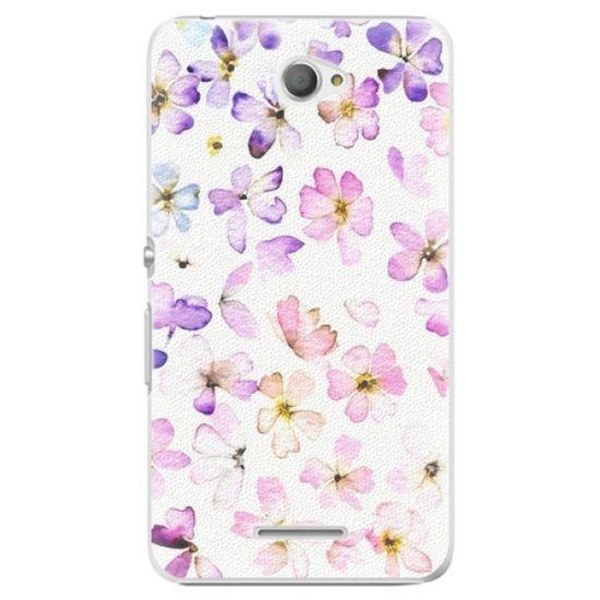 iSaprio Plastový kryt - Wildflowers pre Sony Xperia E4