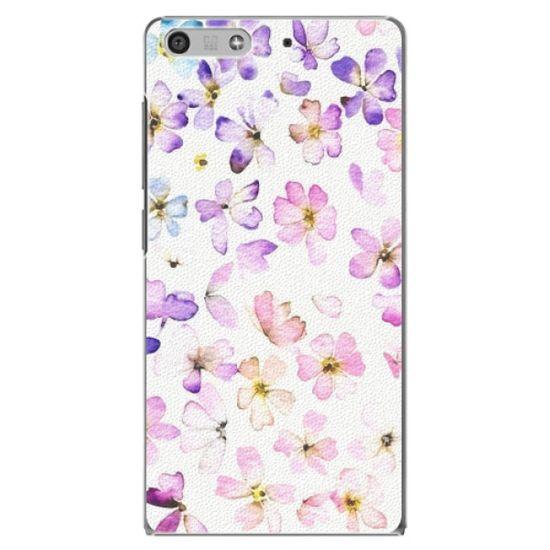 iSaprio Plastový kryt - Wildflowers pre Huawei Ascend P7 Mini