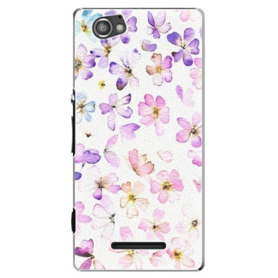 iSaprio Plastový kryt - Wildflowers pre Sony Xperia M
