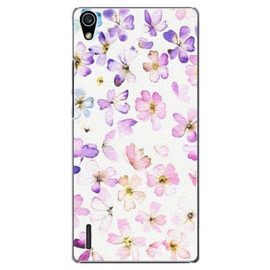 iSaprio Plastový kryt - Wildflowers pre Huawei Ascend P7