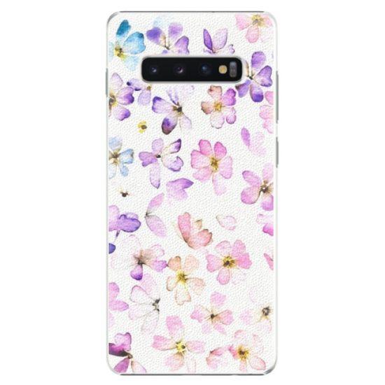 iSaprio Plastový kryt - Wildflowers pre SAMSUNG GALAXY S10 PLUS
