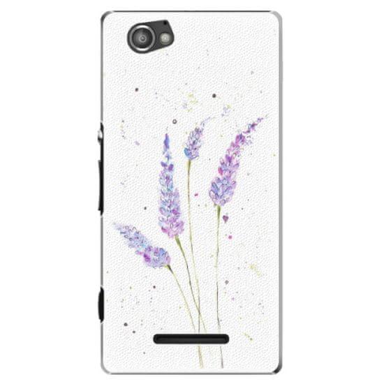 iSaprio Plastový kryt - Lavender pre Sony Xperia M