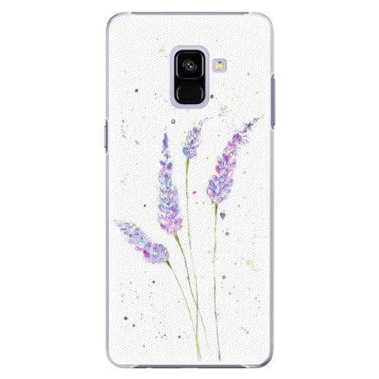 iSaprio Plastový kryt - Lavender pro Samsung Galaxy A8 plus