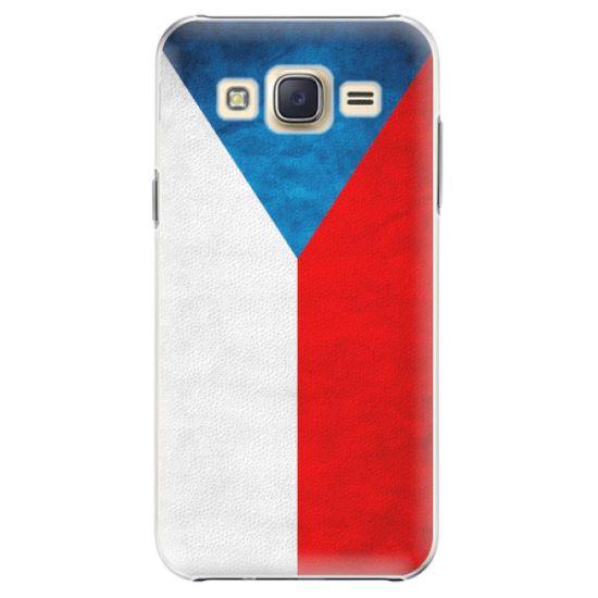 iSaprio Plastový kryt - Czech Flag pre Samsung Galaxy J5
