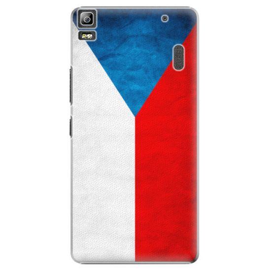 iSaprio Plastový kryt - Czech Flag pre Lenovo A7000