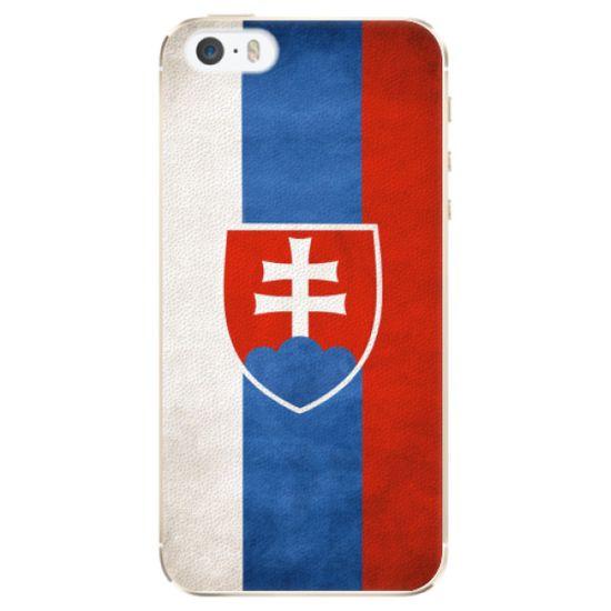 iSaprio Plastový kryt - Slovakia Flag pro Apple iPhone 5/5S/SE