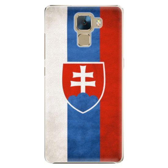 iSaprio Plastový kryt - Slovakia Flag pro Honor 7