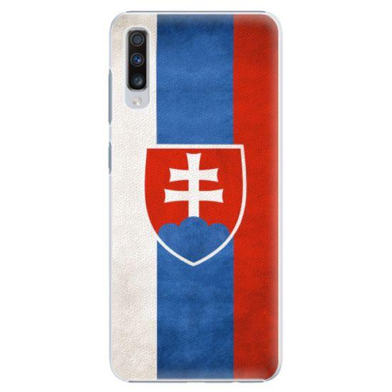 iSaprio Plastový kryt - Slovakia Flag pre Samsung Galaxy A70