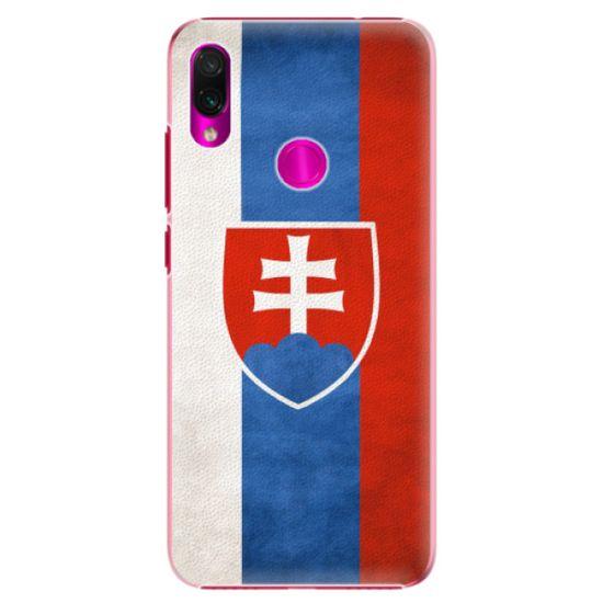 iSaprio Plastový kryt - Slovakia Flag pro Xiaomi Redmi Note 7