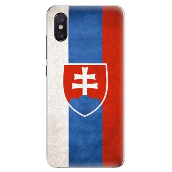 iSaprio Plastový kryt - Slovakia Flag pre Xiaomi Mi 8 Pro