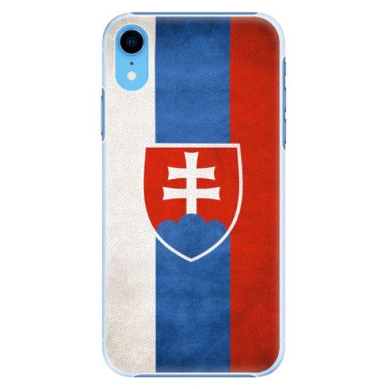 iSaprio Plastový kryt - Slovakia Flag pro Apple iPhone Xr