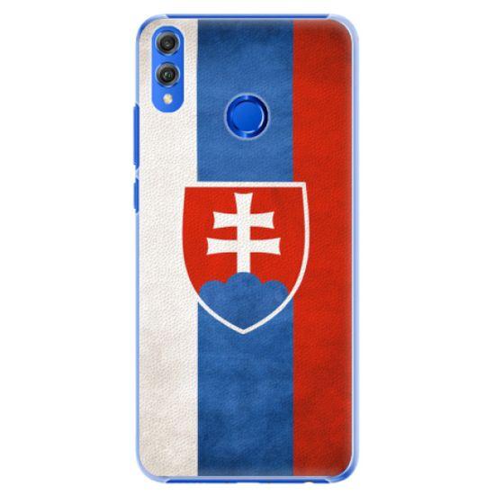 iSaprio Plastový kryt - Slovakia Flag pre Honor 8X