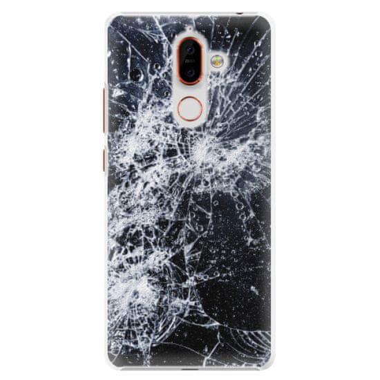 iSaprio Plastový kryt - Cracked pre Nokia 7 Plus